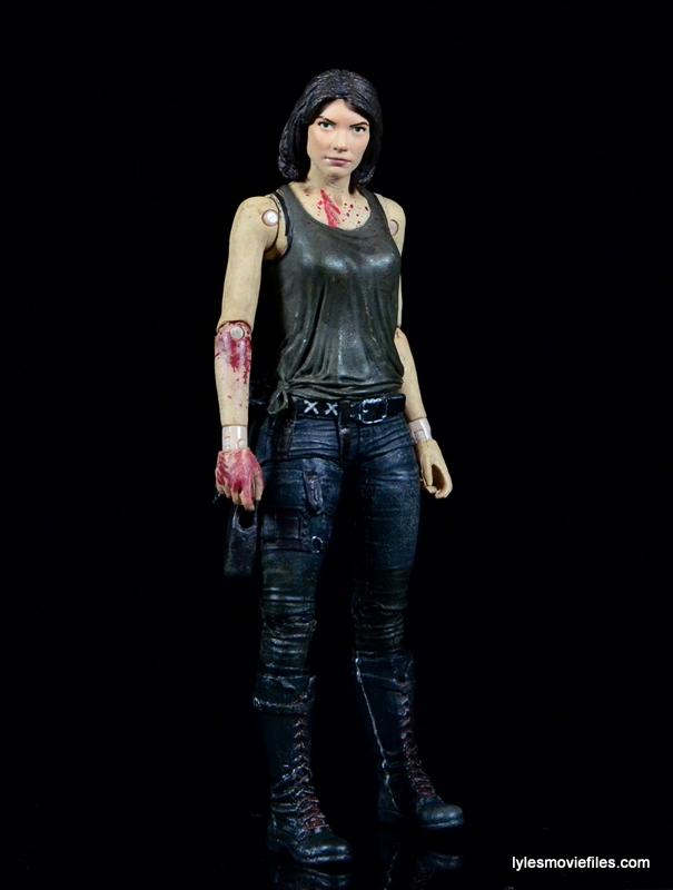 The Walking Dead Maggie Green figure McFarlane Toys -standing
