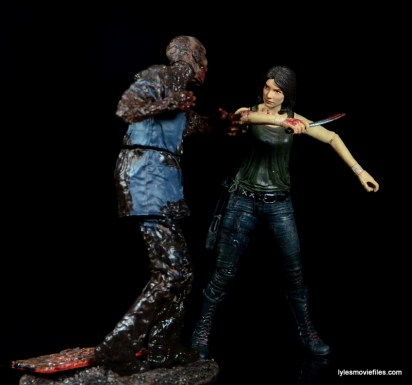 The Walking Dead Maggie Green figure McFarlane Toys - vs Mud Walker