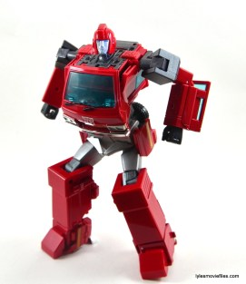 Transformers Masterpiece Ironhide figure review - crouching