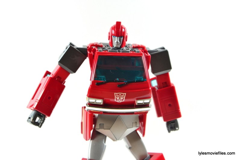 Transformers Masterpiece Ironhide figure review -wide pose
