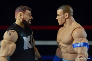 WWE Elite 43 Kevin Owens figure review - face off with John Cena