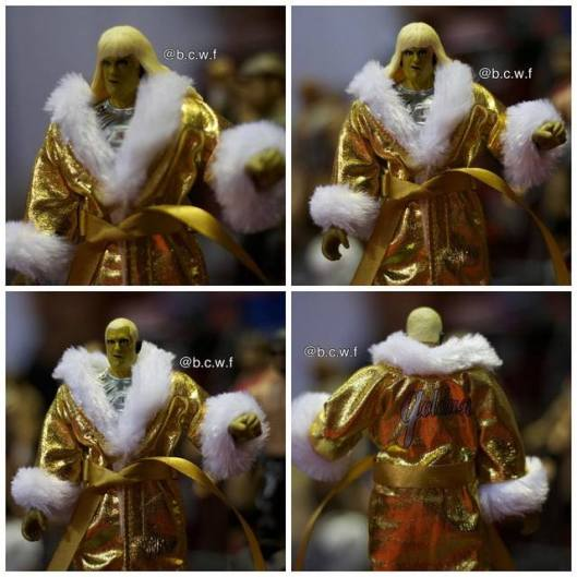 WWE Goldust debut figure with robe