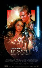 star wars episode two attack of the clones movie poster
