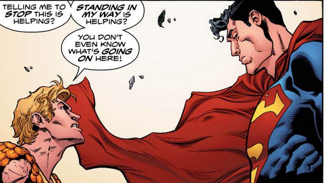 Aquaman #6 - Aquaman faces off with Superman