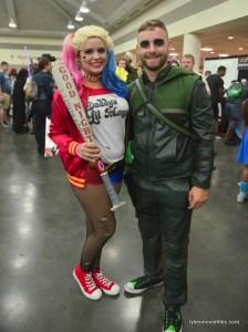 Baltimore Comic Con 2016 - Harley Quinn and Green Arrow