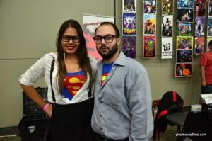 Baltimore Comic Con 2016 -Lois Lane and Clark Kent
