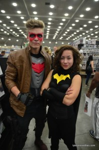 Baltimore Comic Con 2016 - Red Hood and Batgirl