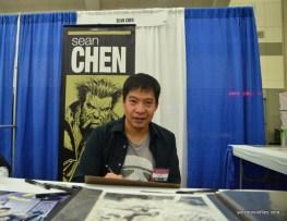 Baltimore Comic Con 2016 - Sean Chen
