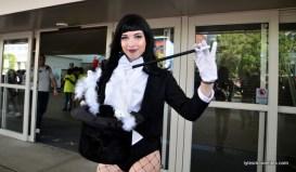 Baltimore Comic Con 2016 - Zatanna doing a trick