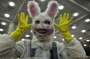 Baltimore Comic Con 2016 -scary rabbit