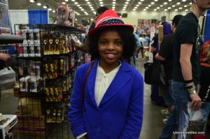 Baltimore Comic Con 2016 - young Agent Carter