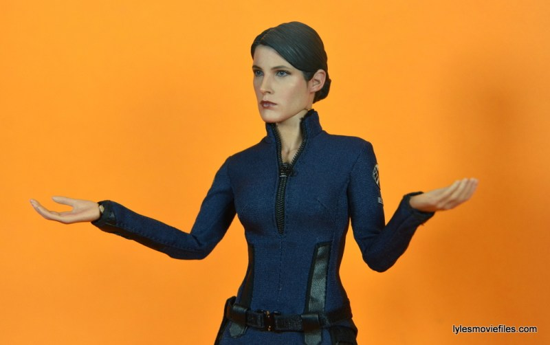Hot Toys Maria Hill figure -arms out