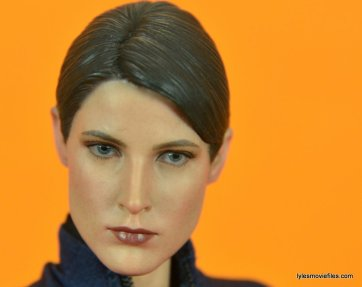 Hot Toys Maria Hill figure -face close up