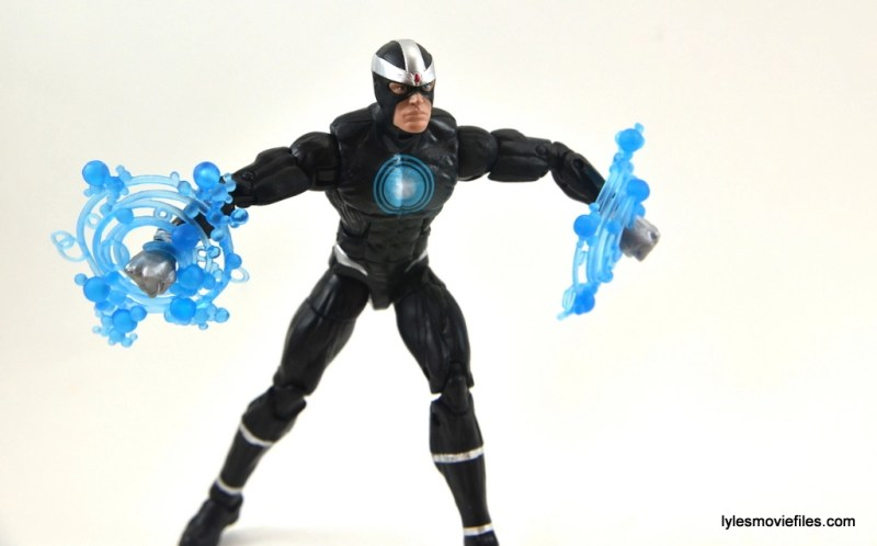 Marvel Legends Havok figure review -arms charging