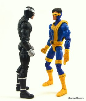 Marvel Legends Havok figure review - eye to eye with Cyclops