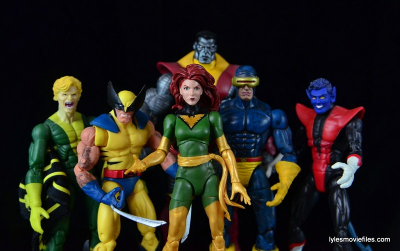 Marvel Legends Phoenix figure review - X-Men Banshee, Wolverine, Colossus, Phoenix, Cyclops and Nightcrawler