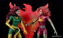 Marvel Legends Phoenix figure review - face off with Dark Phoenix