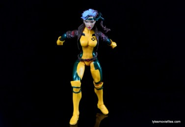Marvel Legends Rogue figure review - about to fly