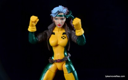 Marvel Legends Rogue figure review - battle ready