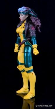 Marvel Legends Rogue figure review - left side