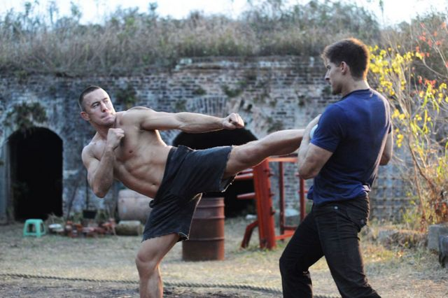 kickboxer vengeance movie review - georges st-pierre and alan moussi