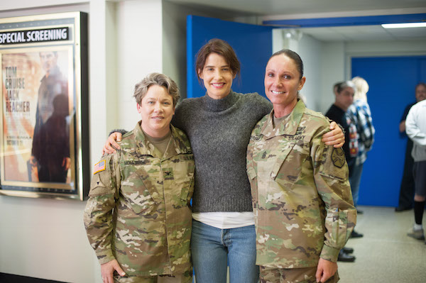 cobie-smulders-at-fort-belvoir
