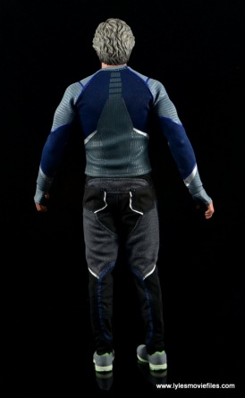 Hot Toys Quicksilver figure review - rear