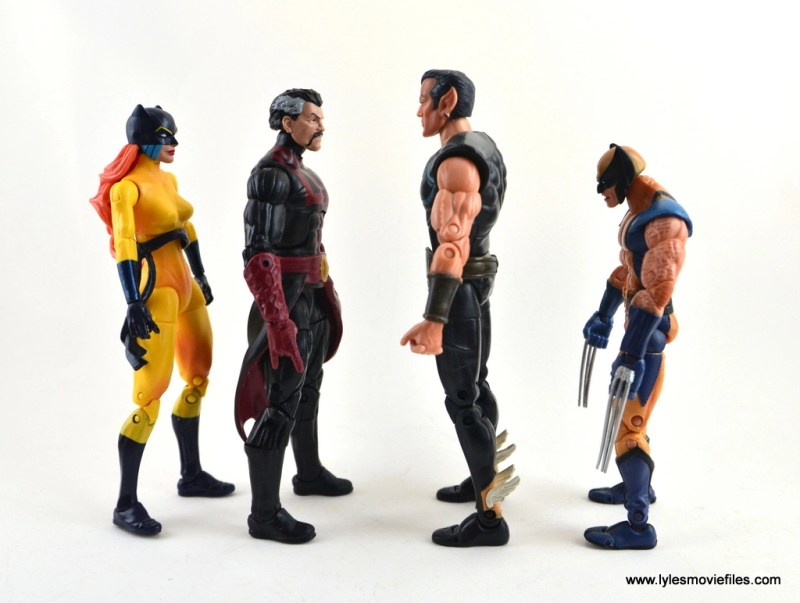 marvel-legends-doctor-strange-figure-review-scale-with-hellcat-namor-and-wolverine