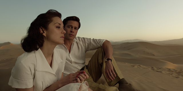 Allied-movie-review-Marianne-and-Max-in-Casablanca