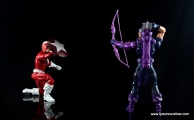 Marvel Legends Red Guardian figure review - vs Hawkeye