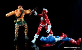 Marvel Legends Red Guardian figure review - vs Hercules