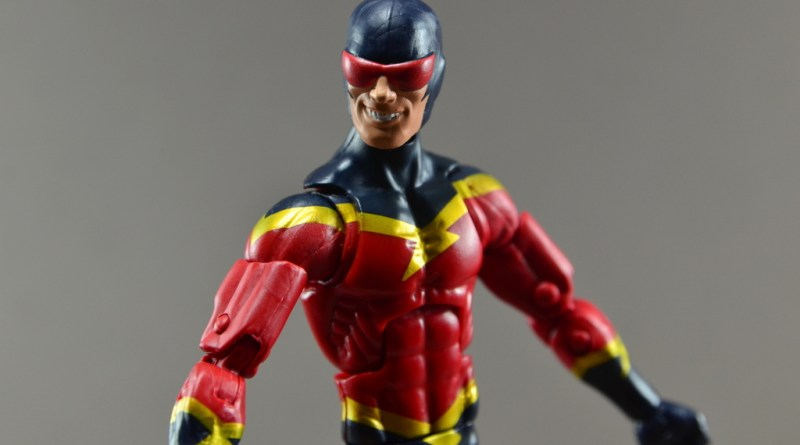 Marvel Legends Speed Demon figure review -main portrait