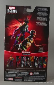 Marvel Legends Speed Demon figure review - package rear