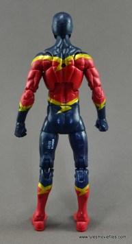 Marvel Legends Speed Demon figure review - rear