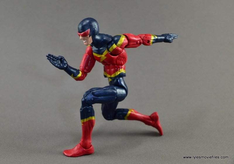 Marvel Legends Speed Demon figure review - set to run