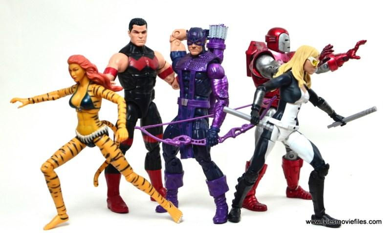 marvel-legends-wonder-man-figure-review-west-coast-avengers-tigra-hawkeye-iron-man-and-mockingbird