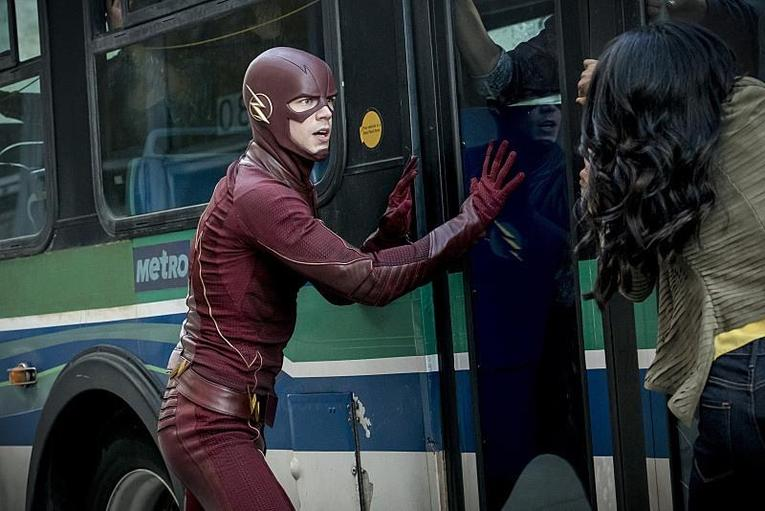 the-flash monster the-flash-and-iris-west