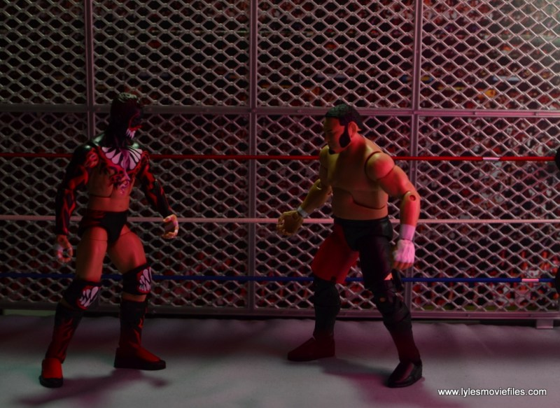 wwe-elite-43-samoa-joe-figure-review-steel-cage-showdown-with-finn-balor
