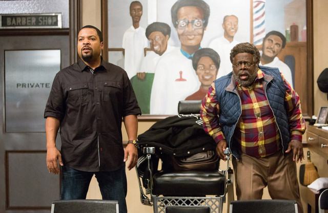 barbershop the next cut review - ice cube and cedric the entertainer