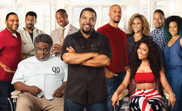 barbershop the next cut review main cast