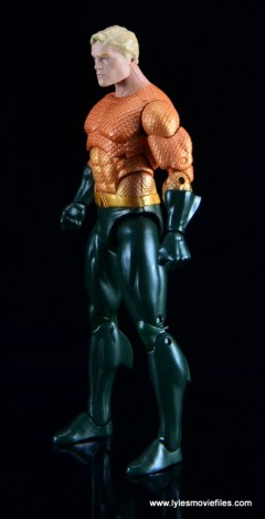 DC Icons Aquaman figure review - left side