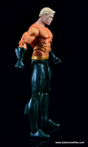 DC Icons Aquaman figure review - right side