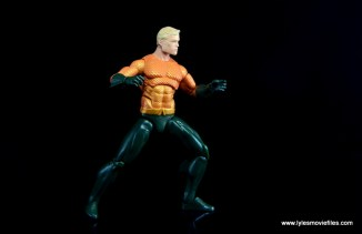 DC Icons Aquaman figure review - wide stance