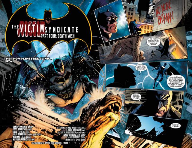 Detective Comics #946 interior art