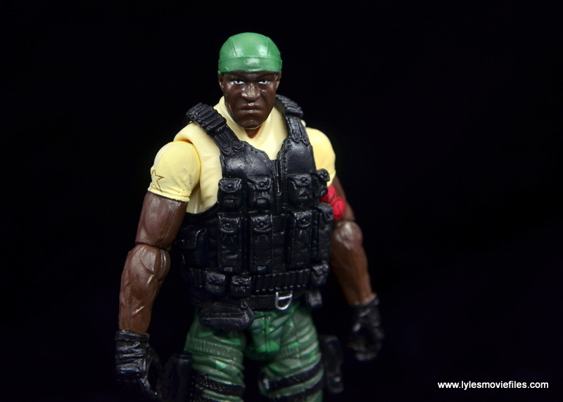 GI Joe Heavy Conflict Heavy Duty and Stiletto figure review - Heavy Duty main
