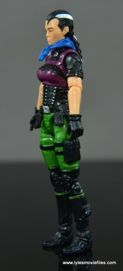 GI Joe Heavy Conflict Heavy Duty and Stiletto figure review - Stiletto left side