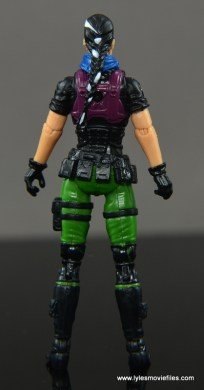 GI Joe Heavy Conflict Heavy Duty and Stiletto figure review - Stiletto rear