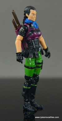 GI Joe Heavy Conflict Heavy Duty and Stiletto figure review - Stiletto right side