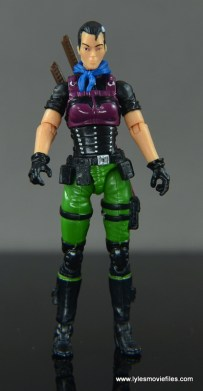 GI Joe Heavy Conflict Heavy Duty and Stiletto figure review - Stiletto straight