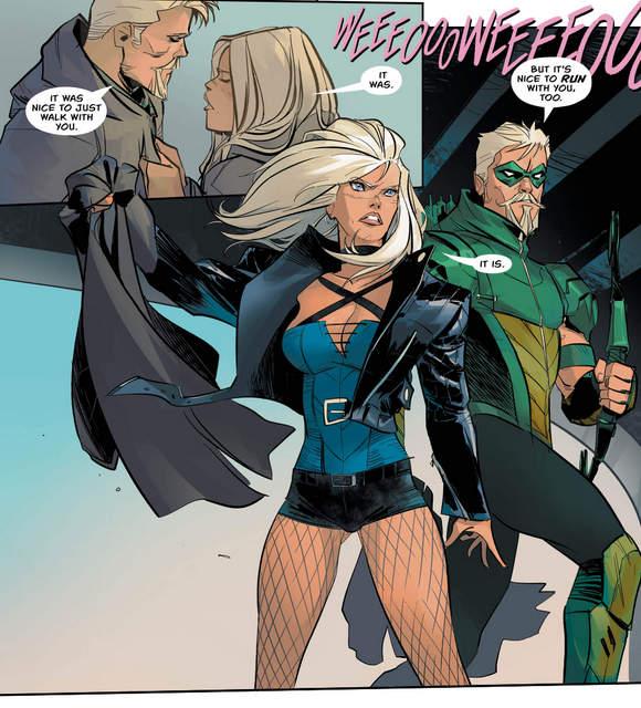 Green Arrow #13 interior art